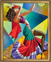 רקוד (Georgy Kurasov) Art Canvas